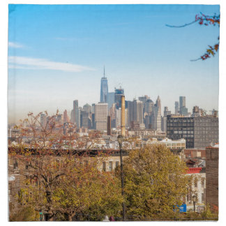 Servilleta De Tela Horizonte de New York City