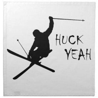 Servilleta De Tela Huck sí (esquí)