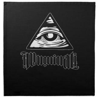 Servilleta De Tela Illuminati