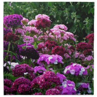 Servilleta De Tela Jardín de flores en verano