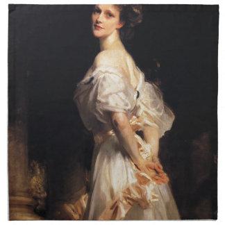 Servilleta De Tela John Singer Sargent - Nancy Astor