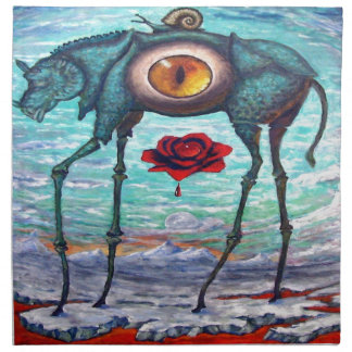 Servilleta De Tela La belleza está en el ojo del espectador