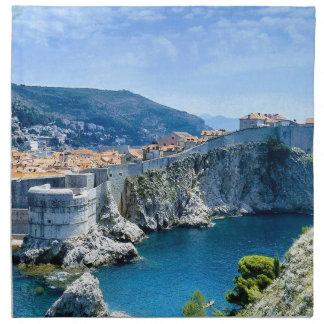 Servilleta De Tela La ciudad vieja de Dubrovnik