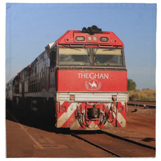 Servilleta De Tela La locomotora del tren de Ghan, Darwin