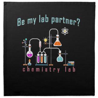 Servilleta De Tela Laboratorio de química
