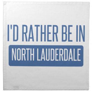 Servilleta De Tela Lauderdale del norte