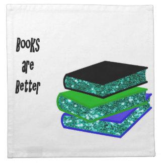 Servilleta De Tela Los libros son mejores