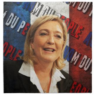 Servilleta De Tela Marine Le Pen