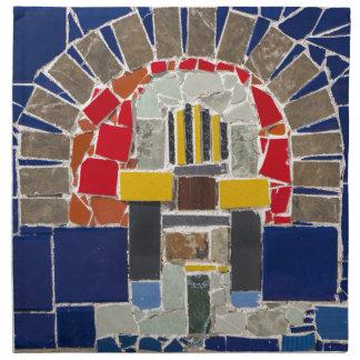 Servilleta De Tela Mosaico