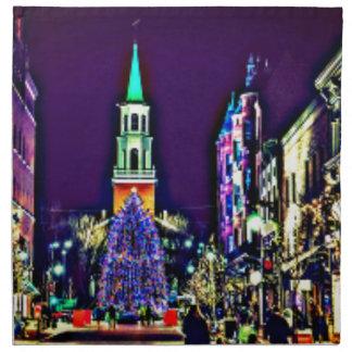 Servilleta De Tela Navidad en ciudad