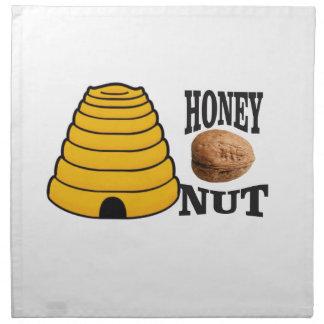 Servilleta De Tela nuez de la miel