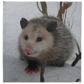 Servilleta De Tela Oposum de la nieve