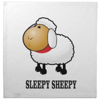 Servilleta De Tela ovejas soñolientas