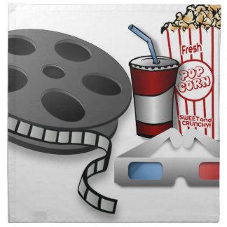 Servilleta De Tela película 3D