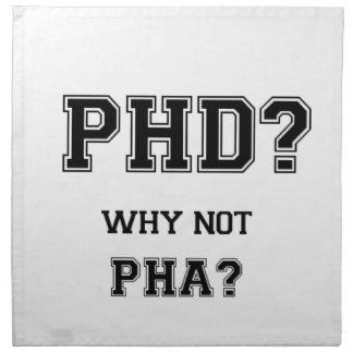 Servilleta De Tela ¿PhD? ¿Por qué no PhA? Padre del asiático de las