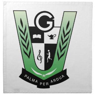 Servilleta De Tela Productos del escudo de la reunión de los alumnos