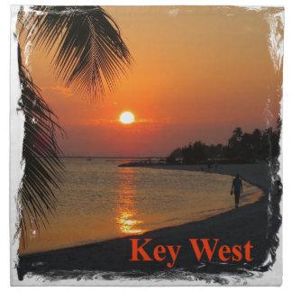 Servilleta De Tela Puesta del sol de Key West