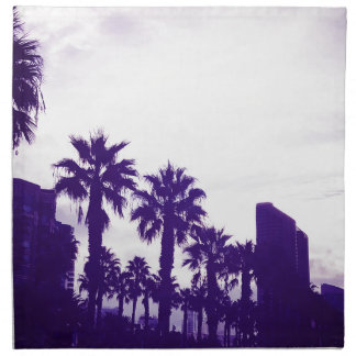 Servilleta De Tela Púrpura de San Diego