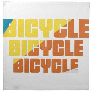 Servilleta De Tela Raza de la bicicleta de la reina