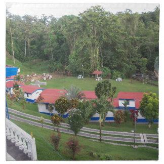 Servilleta De Tela retratamiento de vacaciones en Costa Rica