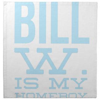 Servilleta De Tela Reuniones del AA de la beca del Homeboy de Bill W