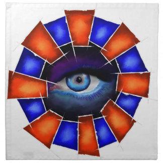Servilleta De Tela Salvenitus - ojo de observación