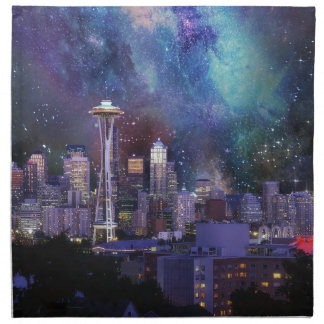 Servilleta De Tela Spacey Seattle