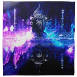 Servilleta De Tela Sueños de Amorem Amisi el Taj Mahal del anuncio