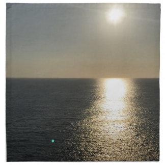Servilleta De Tela Sun en el agua