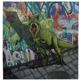 Servilleta De Tela T-Rex urbano