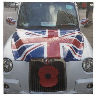 Servilleta De Tela Taxi británico
