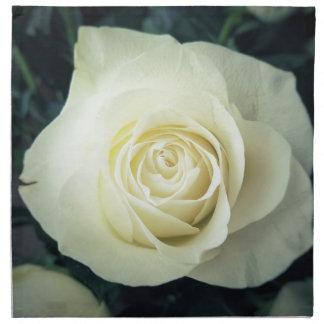 Servilleta De Tela Taza del rosa blanco