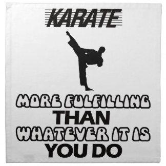 Servilleta De Tela Tender DISEÑOS del karate
