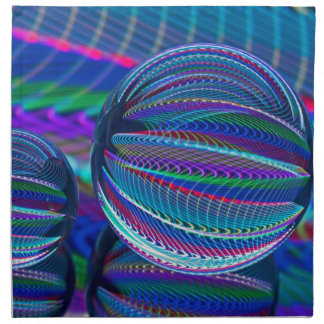 Servilleta De Tela Tres bolas de cristal en color