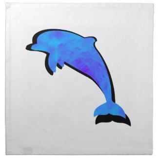 Servilleta De Tela Un cuento de los delfínes