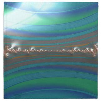 Servilleta De Tela un fractal más vivaz de la hiedra