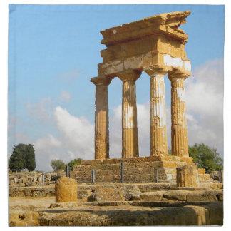 Servilleta De Tela Valle de los templos Sicilia