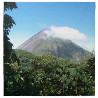 Servilleta De Tela volcán de Arenal