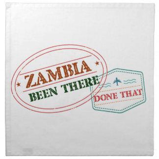 Servilleta De Tela Zambia allí hecho eso
