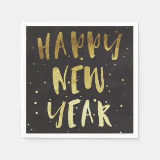 Servilleta del fiesta de la Feliz Año Nuevo Servilletas Desechables