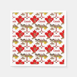 Servilleta Desechable Canadiense de la hoja de arce
