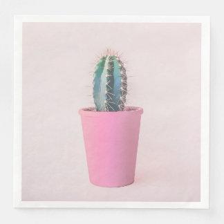 Servilleta Desechable Catus en pote rosado