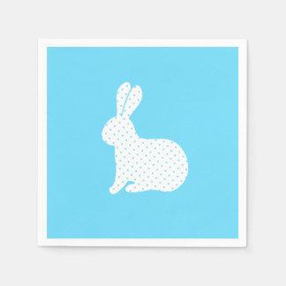 Servilleta Desechable Conejo blanco