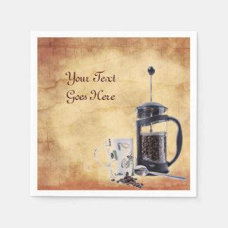 Servilleta Desechable Craving del cafeína
