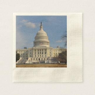 Servilleta Desechable Edificio de Capitol Hill del Washington DC