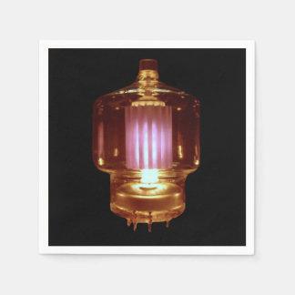 Servilleta Desechable El brillar intensamente transmite el tubo de vacío