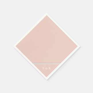 Servilleta Desechable El diseñador 2017 de la primavera colorea pálido -