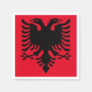 Servilleta Desechable Escudo de armas albanés