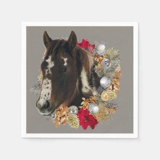 Servilleta Desechable Felices Navidad con Brayley