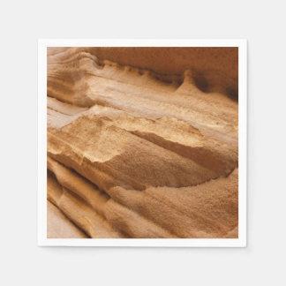 Servilleta Desechable Fotografía del extracto de la roca del rojo de la